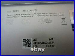 Ordinateur portable Asus model x412da-ek008t (hors service)