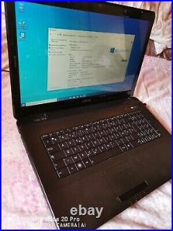 Ordinateur portable asus 17 pouces Intel core i5