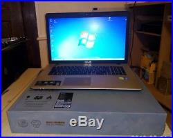 Ordinateur portable asus X752L Windows 7 ultimate X64 17 pouces