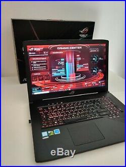 PC Gamer ASUS ROG, 17.3 120Hz, GTX 1060