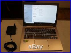 PC Ordinateur ASUS ZENBOOK UX303LN i7 4510U SSD 1 TO RAM 8 Go Geforce 840M