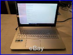 PC Ordinateur Portable Asus N552VX-FX364T Tactile I7-6700HQ 8GO 1TO Geforce 950M