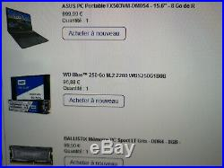 PC PORTABLE GAMER ASUS FX503VM-DM054 COMME NEUF (encore garanti)