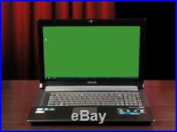 PC Portable Asus N73sv, Optimisé pour les jeux, Windows 10 64 bits