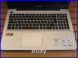 PC Portable Asus R556B AMDA9 / 3.6Ghz 1To + 128 Go SSD R5 M420 2 Go 4 Go