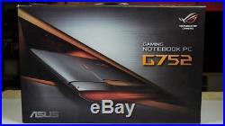 PC Portable Gamer 17.3 ASUS ROG G752VS(KBL)-BA343T SSD 256Go NVIDIA 1070GTX