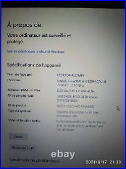 PC core i5 120Go SSD ASUS N56VB 156 NVIDIA 740M 8,00Go RAM Ordinateur Portable