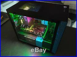 PC gamer I5 8500 + Asus Strix 1050TI Nzxt H200I 8GB DDR4 mini ITX