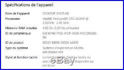 PC portable Asus X75V SSD 250Go 100% fonctionnel