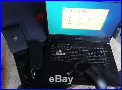 PC portable ROG STRIX SCAR 2 17 RTX 2070 8GO