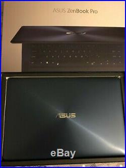 Pc Ordi Portable Asus ZenBook Pro 15 4K I7 1050TI 512GO SSD 16GO RAM Comme Neuf