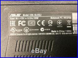 Pc Portable ASUS ROG GL552J Intel i5 4200H 6 Go RAM GTX 950M Hdd 128 Go Win 10