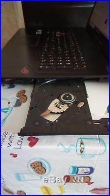 Pc Portable Asus Rog Strix G753v Intel Core I7 7700hq 16go Ddr4 Gtx 1050ti 4go