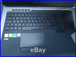Pc gamer ASUS G752VS i7 6700HQ GTX 1070 8go ddr5 17 pouces problème clavier