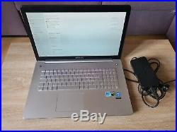 Pc portable Asus N750JK 17.3 GTX 850M Intel i7 2.4Ghz 8Go SSD 128Go HDD 1To