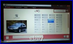 Pc portable Asus + Valise Psa Diagbox Actia (Lexia & Pp2000)