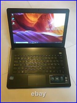 Pc portable Notebook Asus X301A Intel i3 500Go 4GB 13,3 Windows 10 Pro USB 3.0