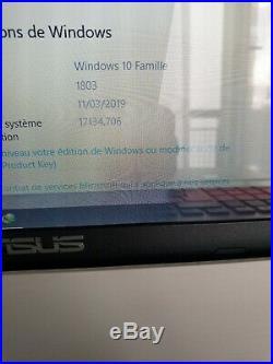 Pc portable asus Écran 17.3HD disque dur 1000go 8go de Ram