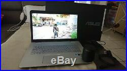 Pc portable comme gamer rog g551 asus N751jx notebook i7 gtx 8go nvme m. 2