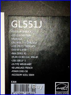 Portable 15.6 ASUS ROG G-SERIES (GL551J)
