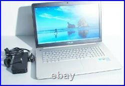 Portable ASUS N750JK-T4105H Core i7-4700H 2.4G 8Go 480GoSSD 500GoHDD Nvidia 850m