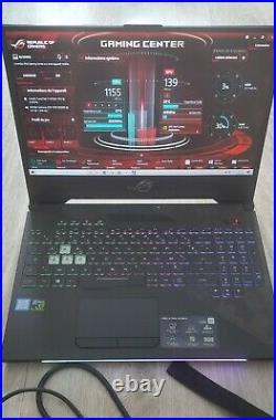 Portable Gamer ASUS ROG Strix SCAR II GL504VS GTX 1070 8Go i7 8750 8Go RAM
