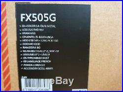 Portable Gamer ASUS TUF 565GM-AL371T (i5/8Go/128Go + 1To/GTX 1060/15,6 120Hz)