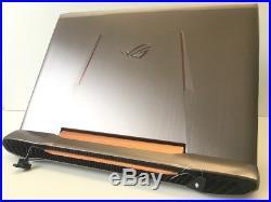 TOP gamer ASUS ROG G752VL 17,3 pouces, Intel Core i7-6700HQ, 256GB SSD, illuminé