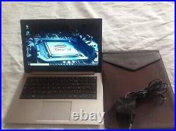 Ultraportable Asus Zenbook i7 SSD 256go aluminium brossé